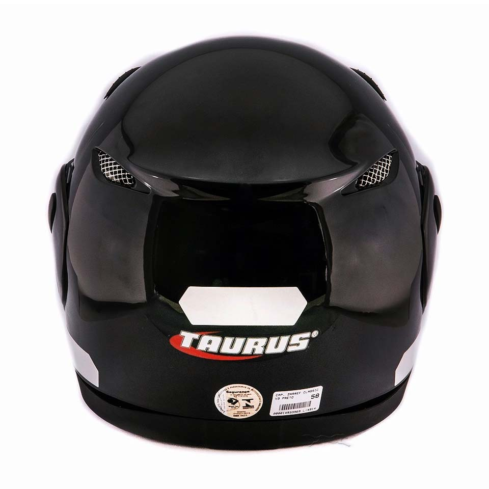 Capacete Taurus Zarref V3 Classic Preto