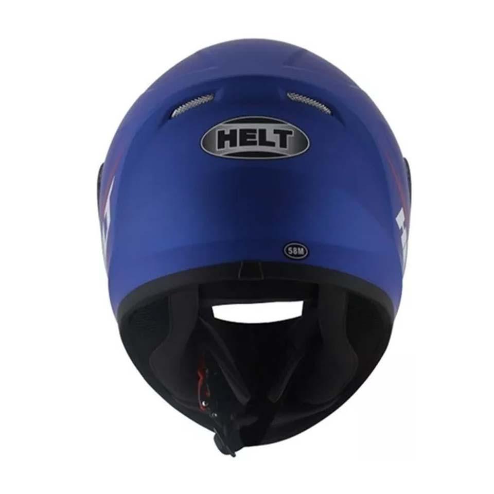 Capacete Helt New Race Polar Azul
