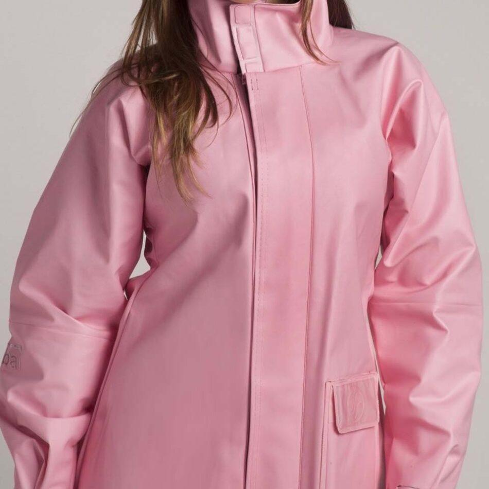 Conjunto Chuva Alba PVC Europa Rosa Feminina
