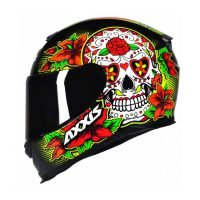 Capacete-Axxis-Eagle-Skull-Black-Yellow