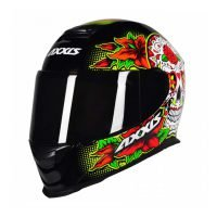 Capacete-Axxis-Eagle-Skull-Black-Yellow-5