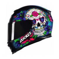 Capacete Axxis Eagle Skull Blk/Blue