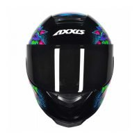Capacete Axxis Eagle Skull Blk/Blue 3