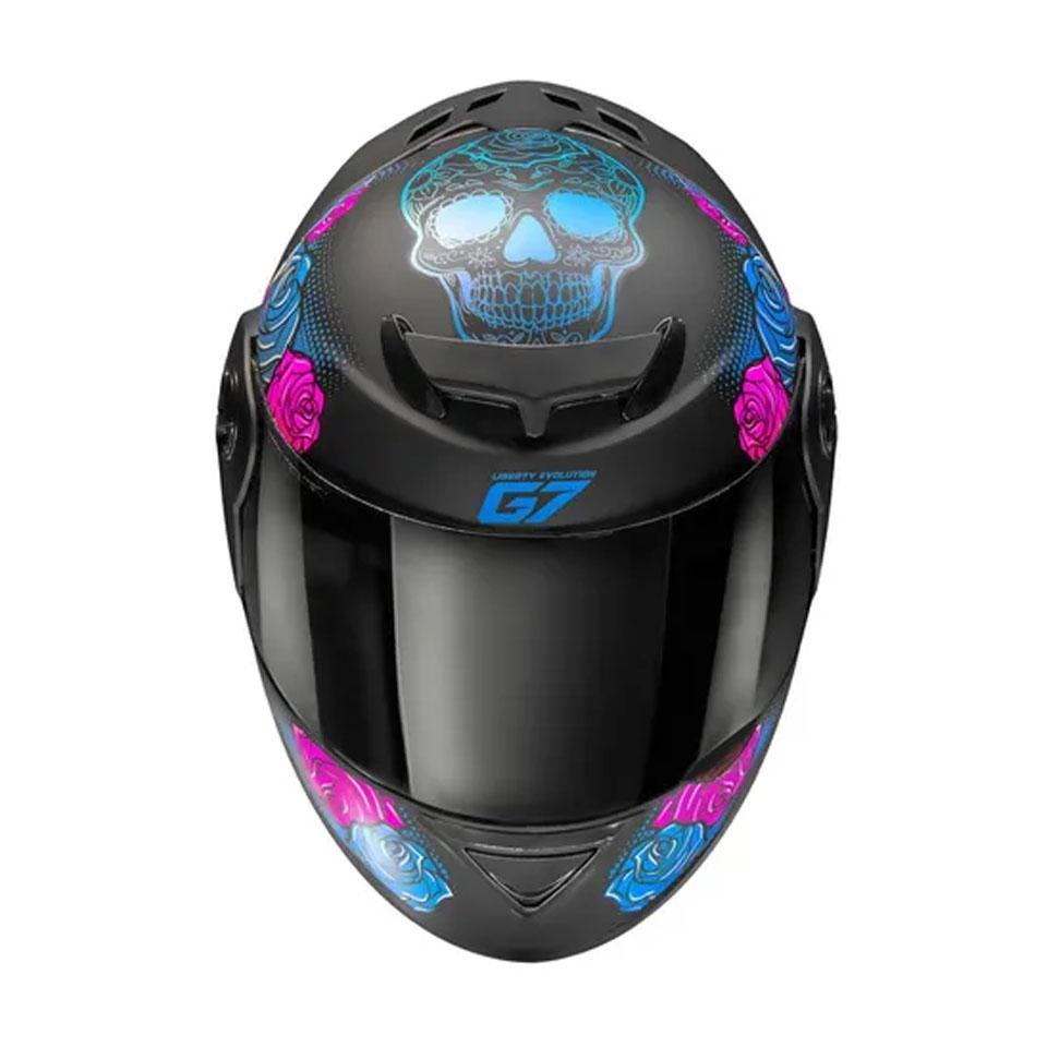Capacete Pro Tork Evolution G4 Las Vegas Preto