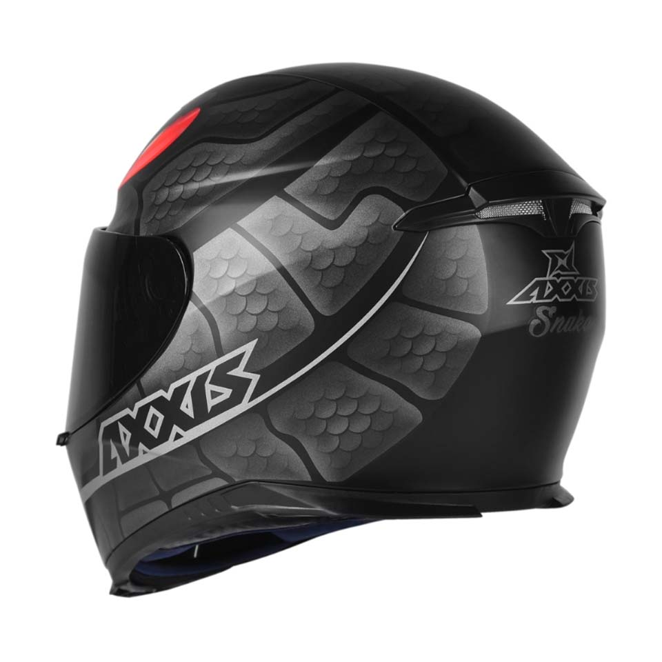 Capacete Axxis Eagle Snake Matt/Black/Grey