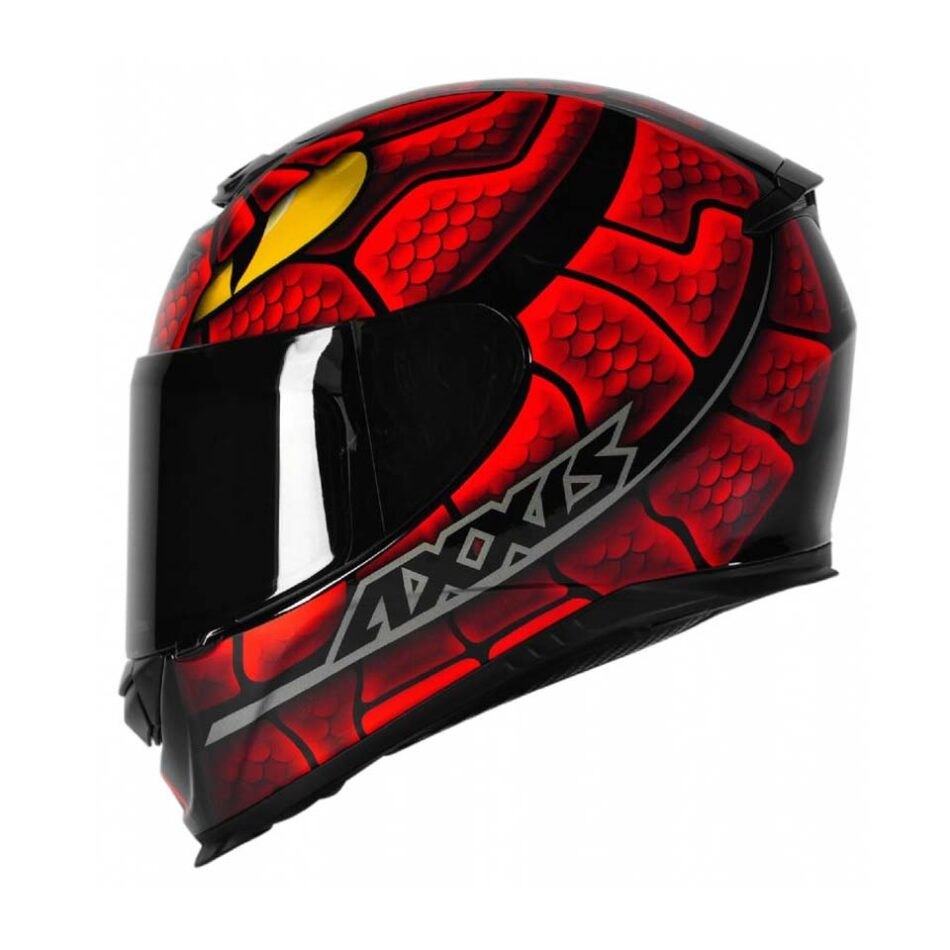 Capacete Axxis Eagle Snake Black/Red