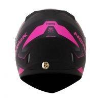 Capacete Norisk FF391 Stripes Matt/Blk/Pink 2