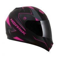Capacete Norisk FF391 Stripes Matt/Blk/Pink 3