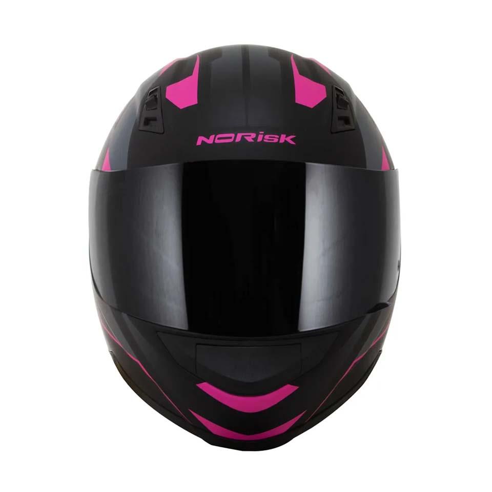 Capacete Norisk FF391 Stripes Matt/Blk/Pink