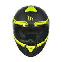 Capacete MT Thunder 3 Beta Matt/Blk/Yellow 5