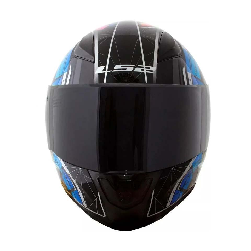 Capacete LS2 FF353 Rapid Tech Black