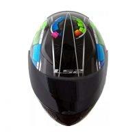 Capacete LS2 FF353 Rapid Tech Black Black 3