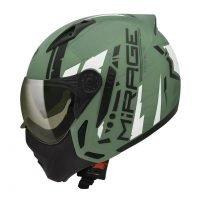 Capacete-Peels-Mirage-Techride-Verde-Fosco-Preto