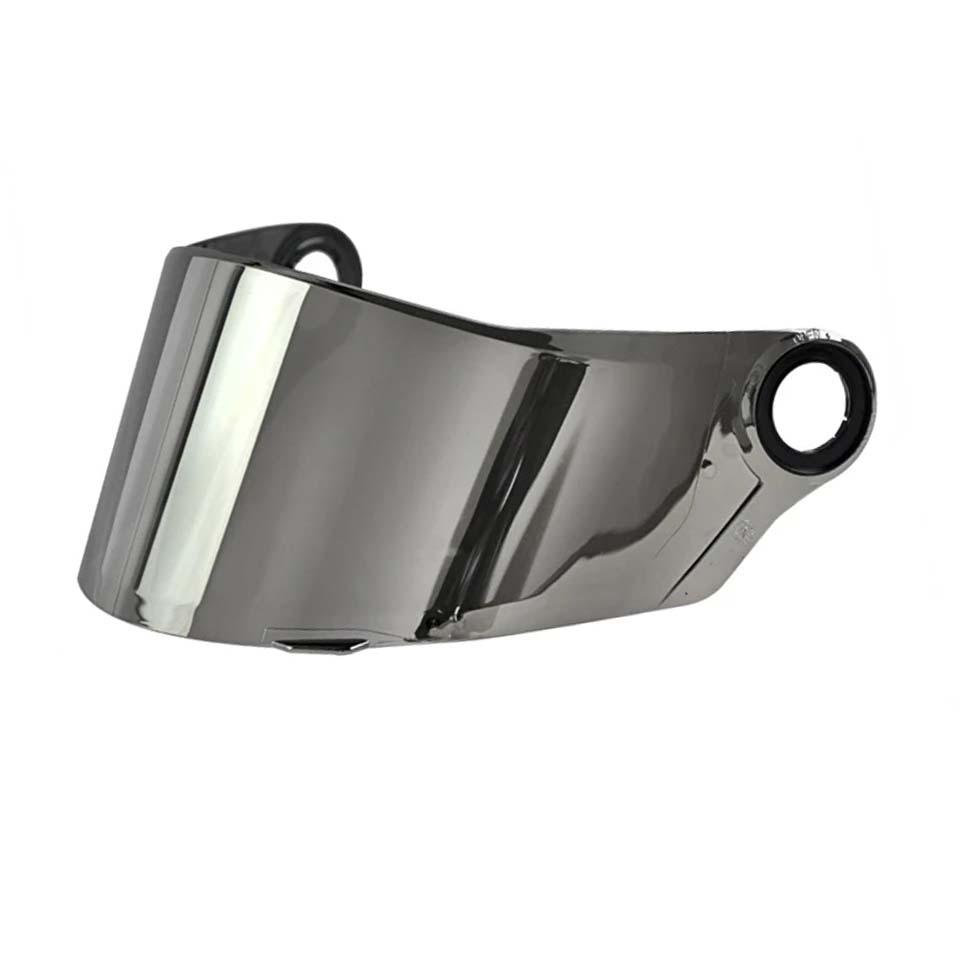 Viseira LS2 FF358 E FF396 Espelhada Silver Polivisor