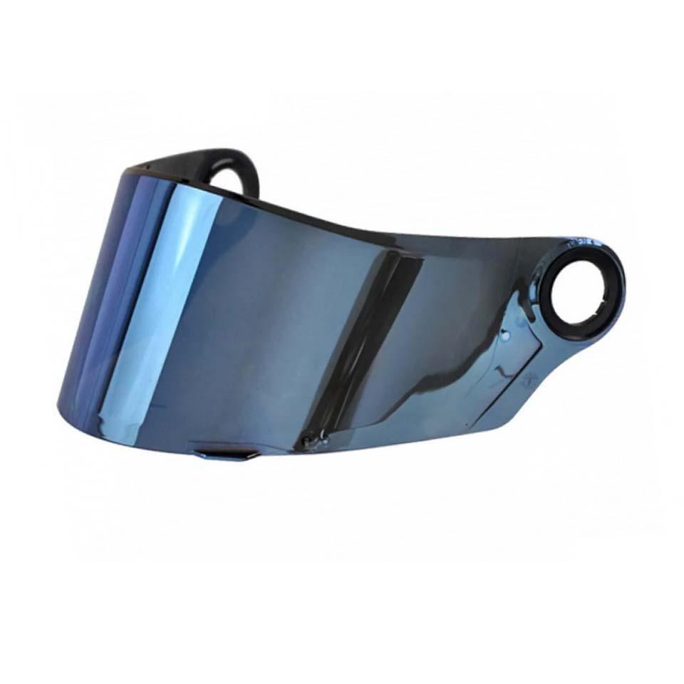 Viseira LS2 FF358 E FF396 Espelhada Blue Polivisor
