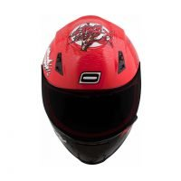 Capacete Norisk FF391 Wolf Red/Blk 3