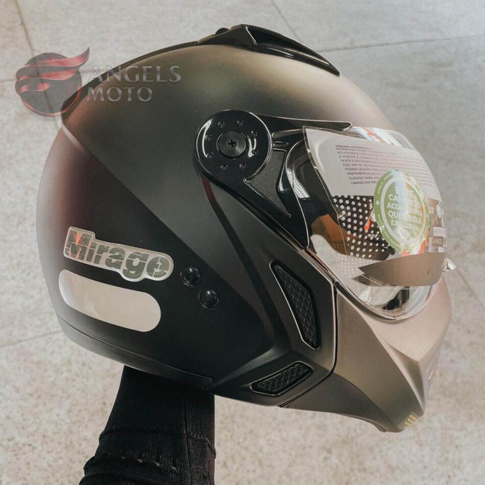Capacete Peels Mirage New Classic Preto Fosco