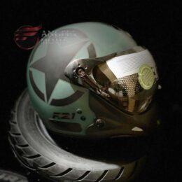 Capacete Peels F21 Us Army Verde Militar Fosco
