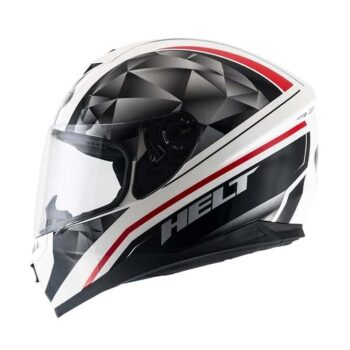 Capacete Helt New Race Carbo Black/Wht