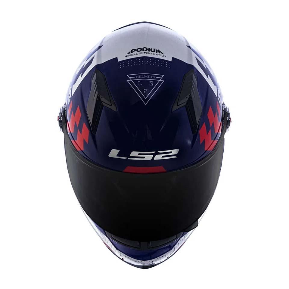 Capacete LS2 FF358 Podium Blue/White/Red