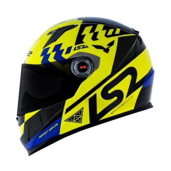 Capacete LS2 FF358 Podium Yellow/Black/Blue