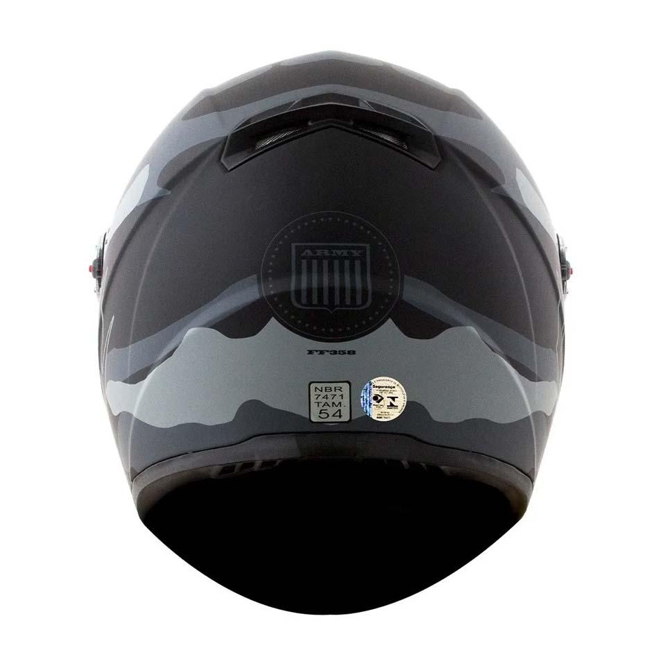 Capacete LS2 FF358 Army Mat/Grey/Black