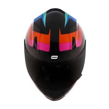 Capacete Norisk FF391 Void Black/Orange/Blue