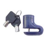 Cadeado Disco Pequeno KGA Azul