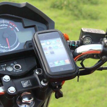 Suporte GPS Celular Guidão Fechado