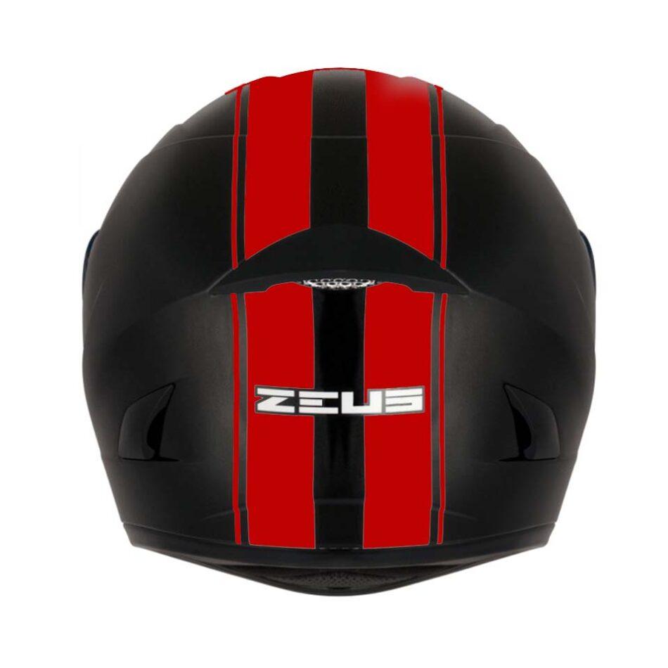Capacete Zeus 810 BJ17 Blk/Red