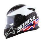 Capacete Norisk FF302 Grand Prix United Kingdom