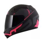 Capacete Norisk FF391 Squalo Mtt/Blk/Pink