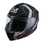 Capacete Helt New Hippo Trace Blk/Wht