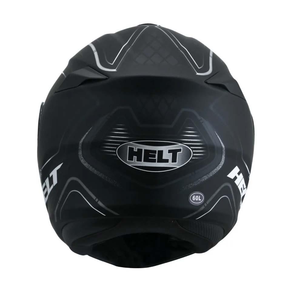 Capacete Helt New Hippo Wave Matt/Back