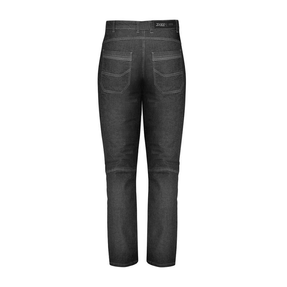 Calça X11 Jeans Preta Ride Masculina