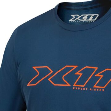 Camiseta Dryfit Underjacket Azul X11