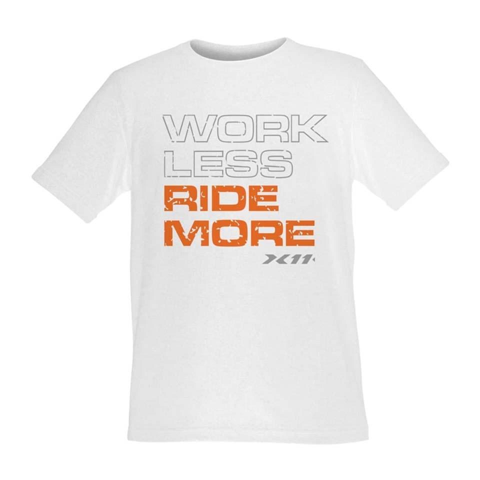 Camiseta Ride More Branca X11