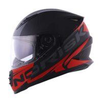 Capacete-Norisk-FF302-Manty-Matte-Black-Red