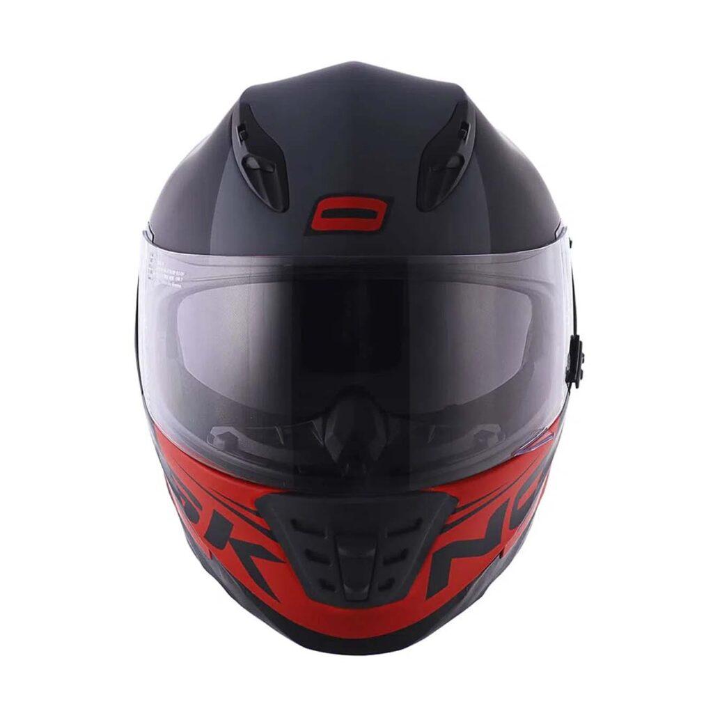 Capacete Norisk FF302 Manty Matte Black Red