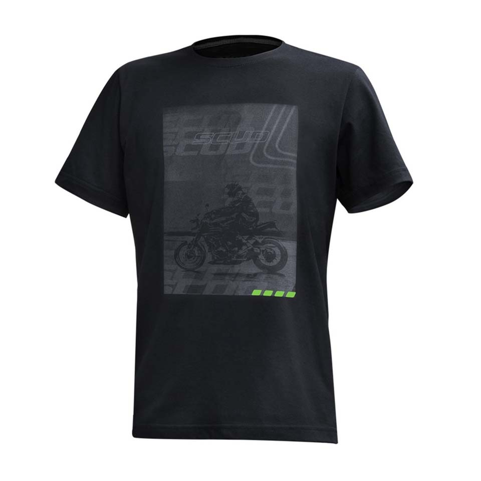 Camiseta Scud Preta