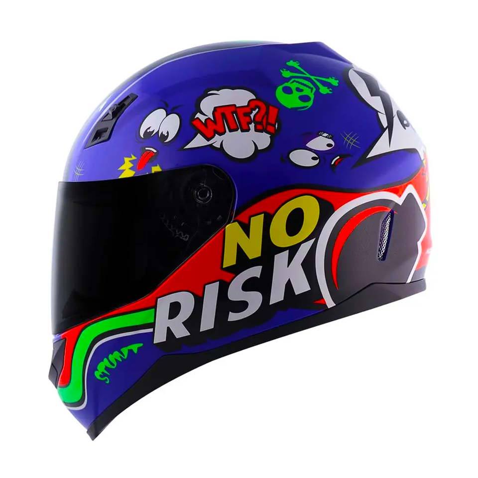 Capacete Norisk FF391 Panic Blue