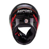 Capacete-Bieffe3-Sport-Drax-Preto-Chumbo-Vermelho-5