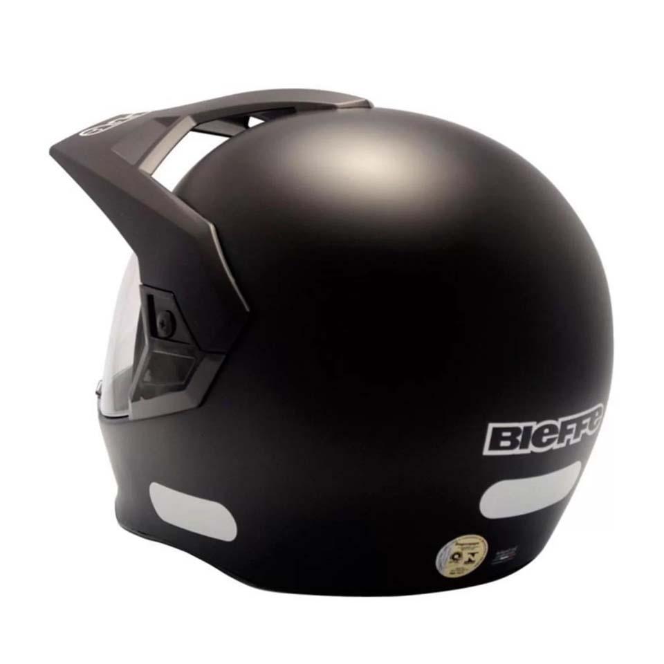 Capacete Bieffe 3 Sport New Classic Preto Fosco