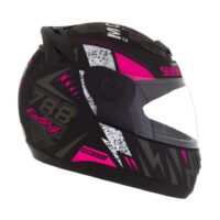 Capacete-Pro-Tork-Evolution-G6-Factory-Racing-Neon-Preto-fosco-Rosa-3