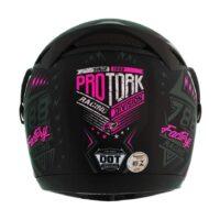 Capacete-Pro-Tork-Evolution-G6-Factory-Racing-Neon-Preto-fosco-Rosa-2