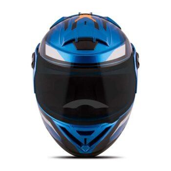 Capacete Pro Tork Evolution G8 Evo Azul Laranja