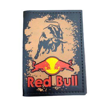 Carteira Porta Documento Motociclista Red Bull