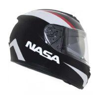 Capacete-Nasa-NS-901-Hero-Black-White-2