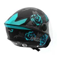 Capacete-Pro-Tork-New-Liberty-Three-Flowers-Preto-Azul-3