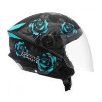 Capacete-Pro-Tork-New-Liberty-Three-Flowers-Preto-Azul-4